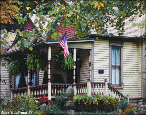 A house in Eureka Springs...Click here to see the image larger