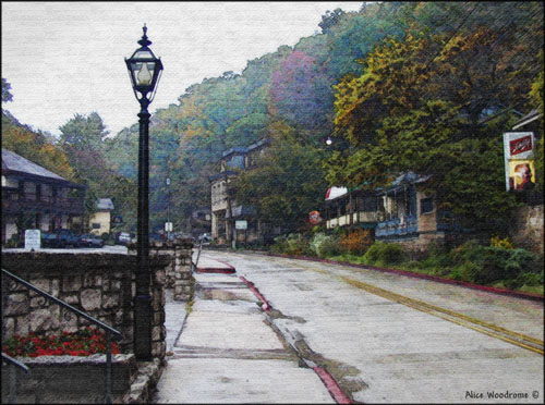 Downtown Eureka Springs...Click here to see the image larger
