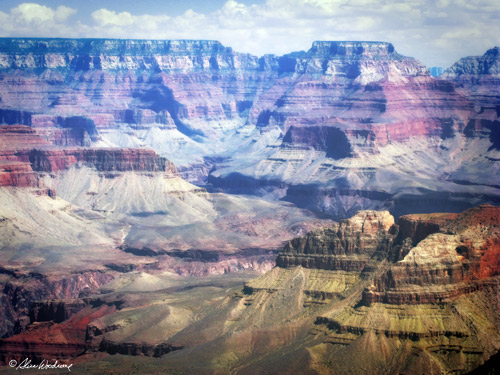 From the South Rim of the Grand Canyon