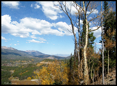 Some great view toward Boreas Pass