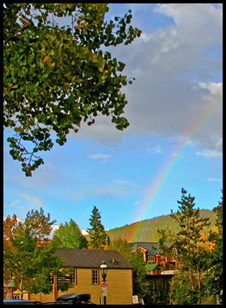 See the rainbow?