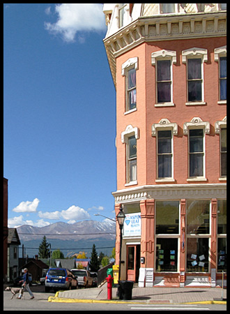 Fortunes were made in the Leadville area from the rich mineral deposits.