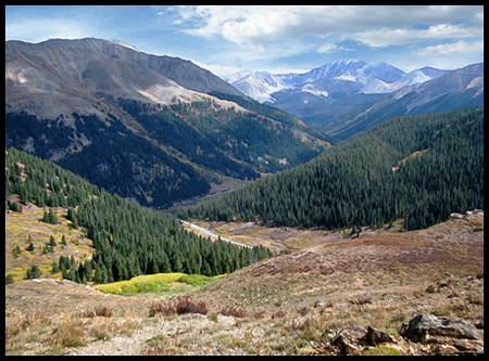 Independence Pass has some of Colorado's finest alpine views.