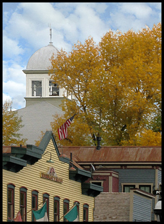 In the Summer 1859, Gold was discovered along the Blue River and a base camp, later to be known as Breckenridge.