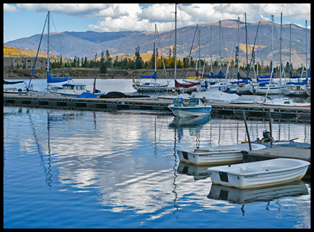 The marina is home to the Dillon Yacht Club, the highest club in North America at over 9000 feet in elevation.