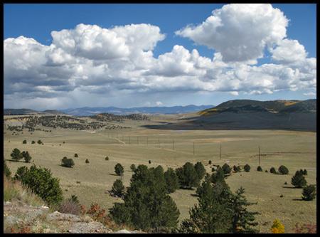 On the way to Como, Colorado