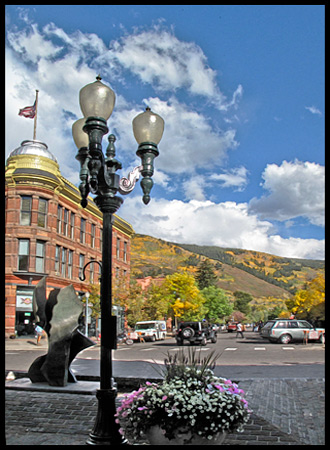 Aspen was a ritzy place, but we found the people friendly.