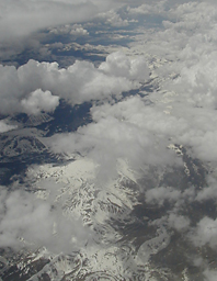 A view from the plane