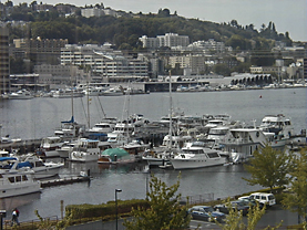 View of Lake Union