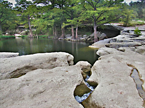 McKinney Falls State Park - Upper Falls Area -- click to see larger size