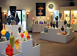 Wimberly Glass Works Show Room -- click to view picture large