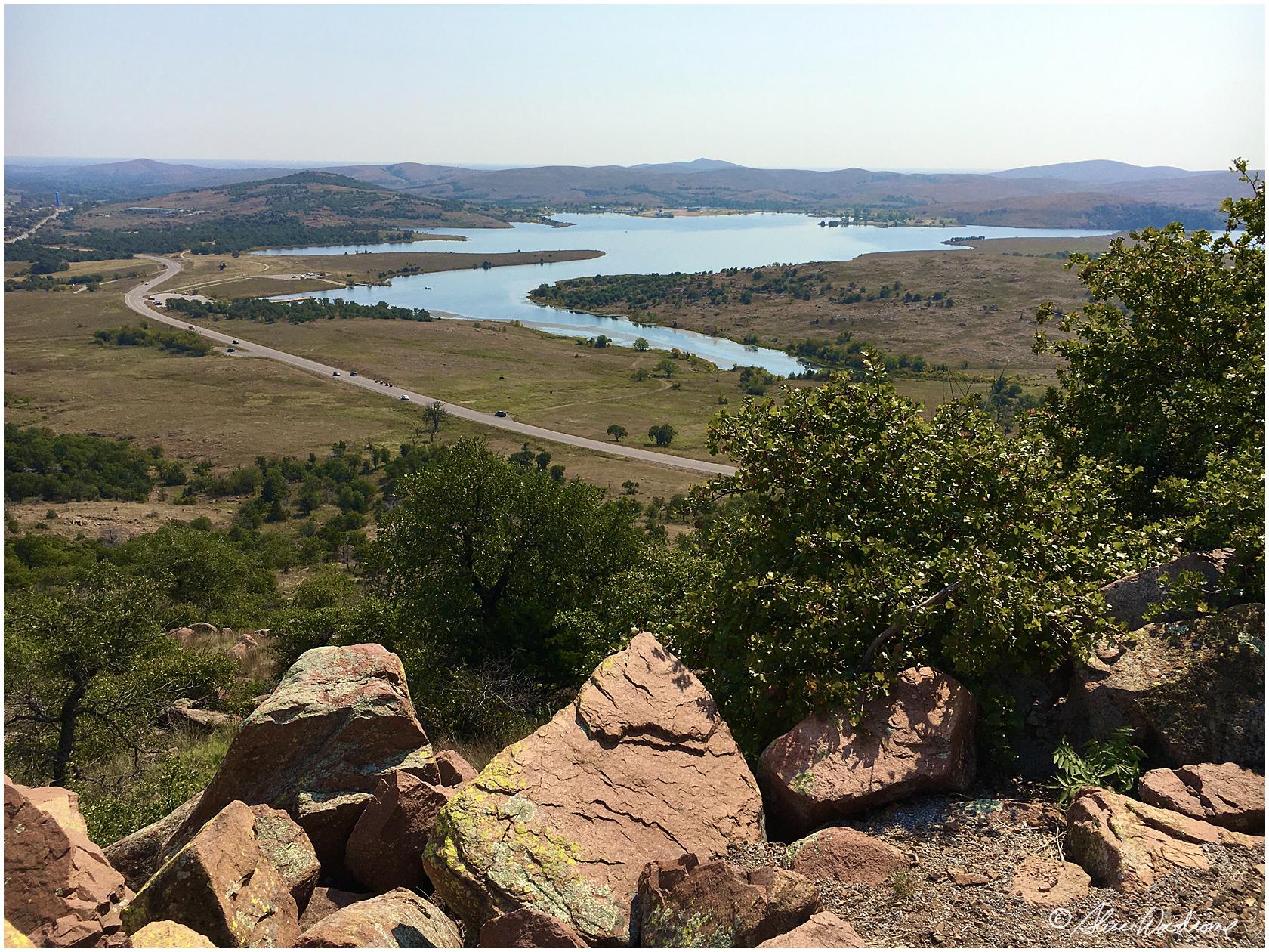View on Mount Scott
